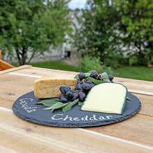 Rustic Slate Cheese Board, Cheese Tray, With Chalk