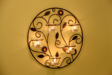 Tea Light Wall Sconces Candle Holders, Holding 5 Candles