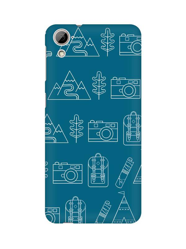 Life is Exploring HTC Desire 820 Mobile Cover