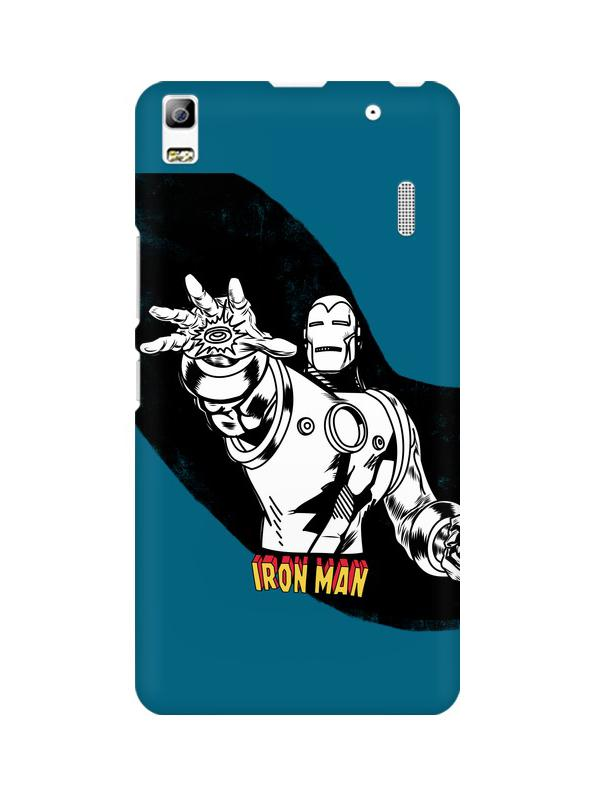 Iron Man Lenovo A7000 Mobile Cover