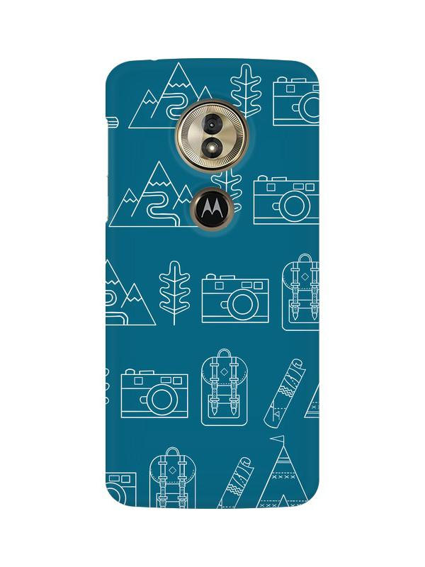 Life is Exploring Moto G6 Play Mobile Cover