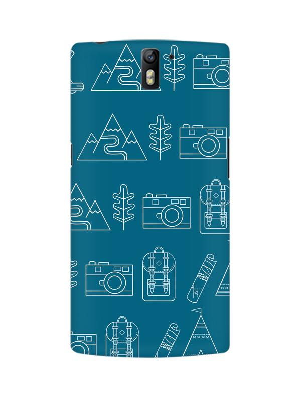 Life is Exploring OnePlus One Mobile Cover