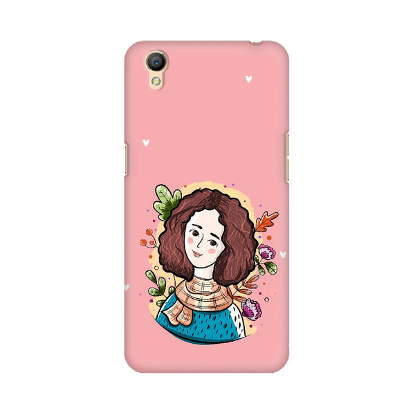 Pretty Lady Oppo Mobile Cases & Covers
