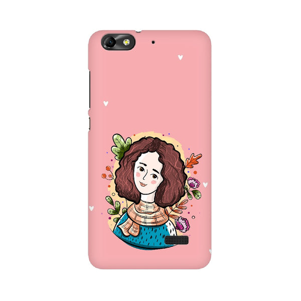 Pretty Lady Huawei Mobile Cases & Covers
