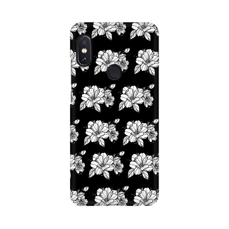 Floral Pattern Xiaomi Mobile Cases & Covers