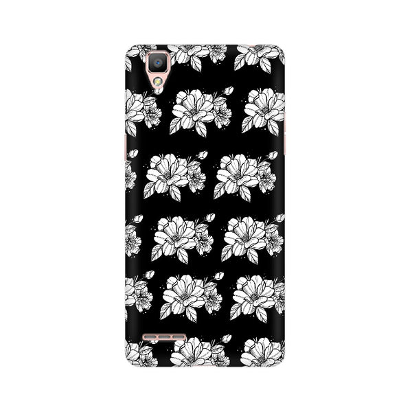 Floral Pattern Oppo Mobile Cases & Covers