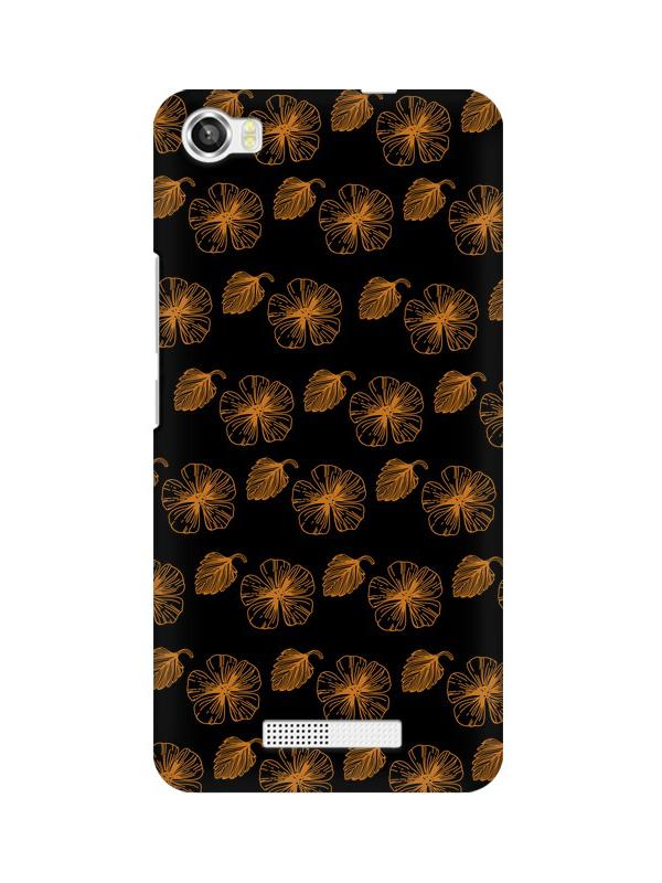 Floral Patterns Lava Iris X8 Mobile Cover