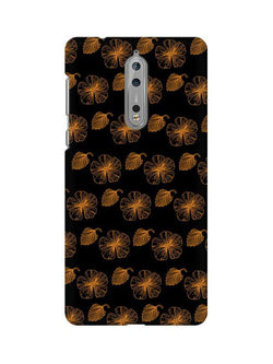 Floral Patterns Nokia 8 Mobile Cover