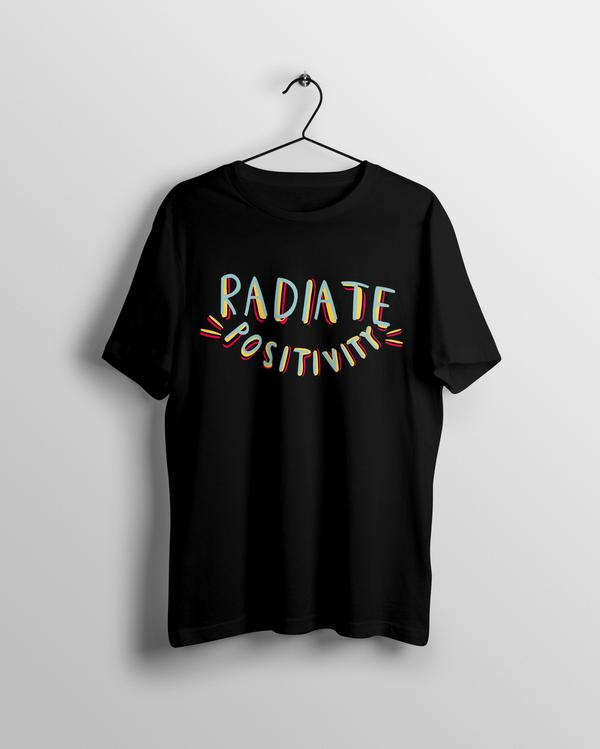 Radiate Positivity T-shirt - Calenvie