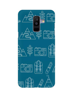 Life is Exploring Samsung A6+ (2018) Mobile Cover