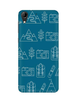 Life is Exploring HTC Desire 728 Mobile Cover