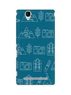 Life is Exploring Sony Xperia T2 Ultra Mobile Cover