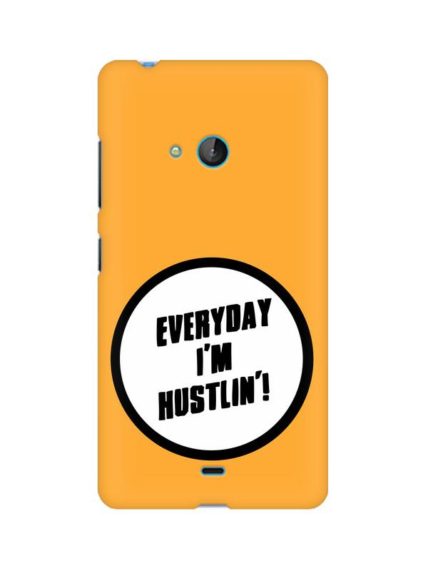 Hustle Nokia Lumia 540 Mobile Cover