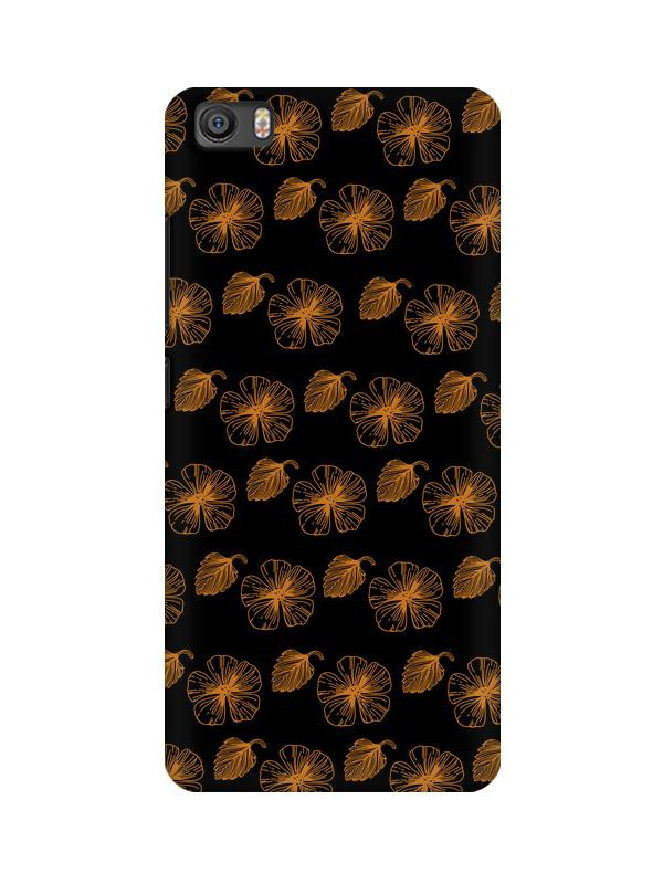 Floral Patterns Xiaomi Mi 5 Mobile Cover