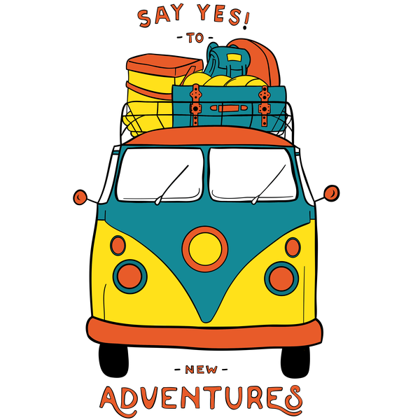 New Adventures T-shirt - Calenvie