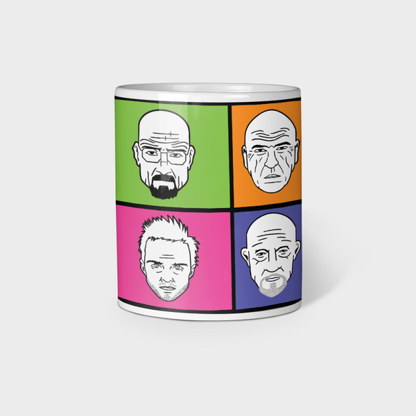 Breaking Bad White Ceramic Mug 330ml
