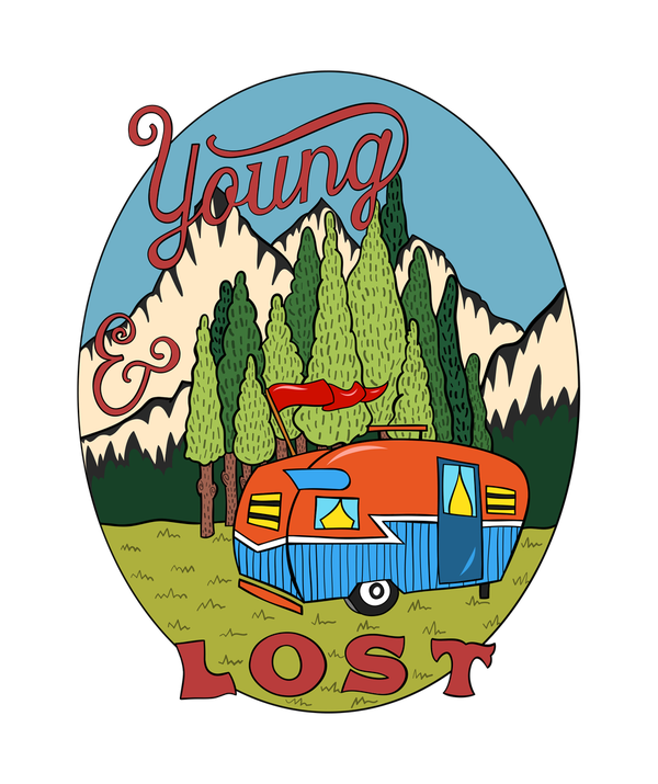 Young & Lost T-shirt - Calenvie