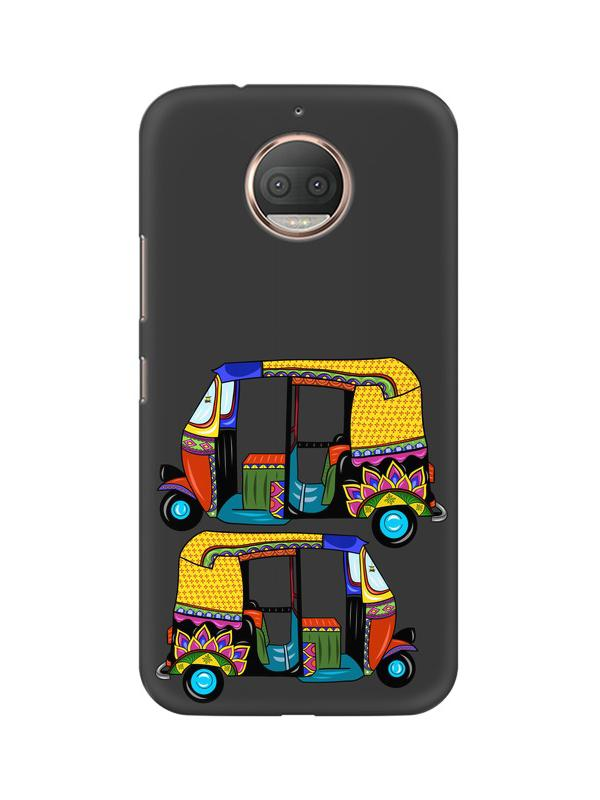 Autorickshaw Moto E4 Plus Mobile Cover