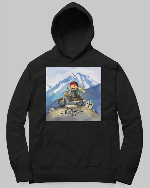Every Riders Dream Hoodie by SmilingSkull