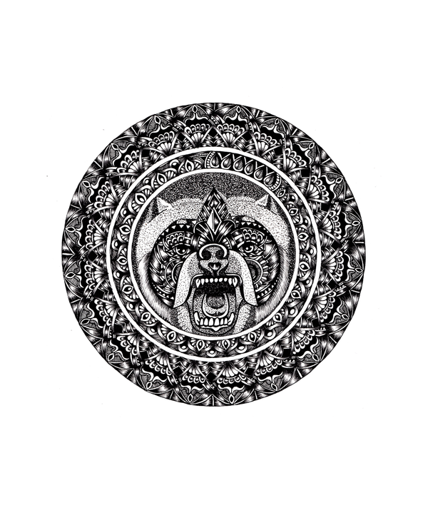 Bear Mandala T-shirt