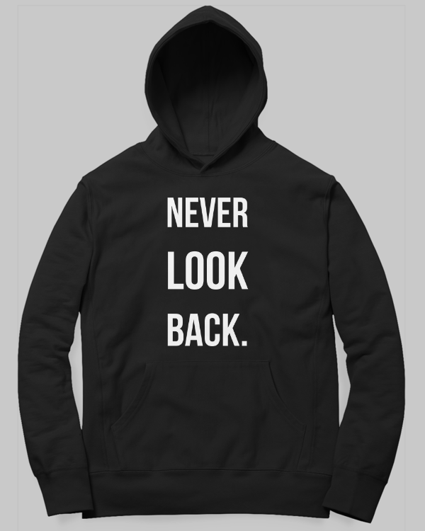 Never Look Back Hoodie by Satavisha