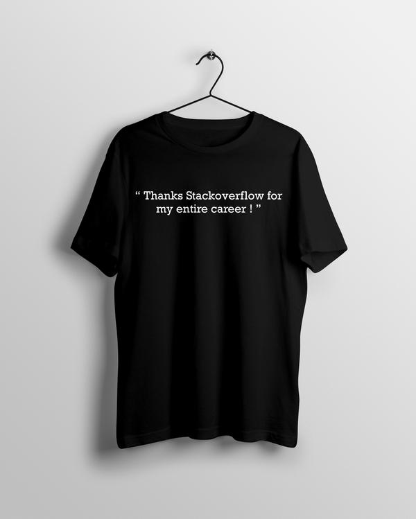 Stackoverflow Career T-shirt - Calenvie