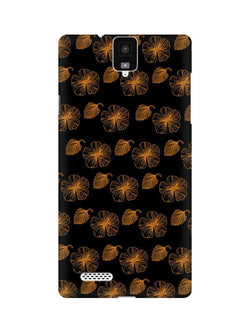 Floral Patterns InFocus M330 Mobile Cover