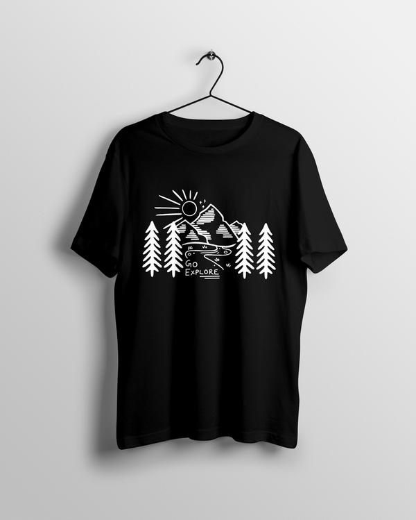 Go Explore v2 T-shirt