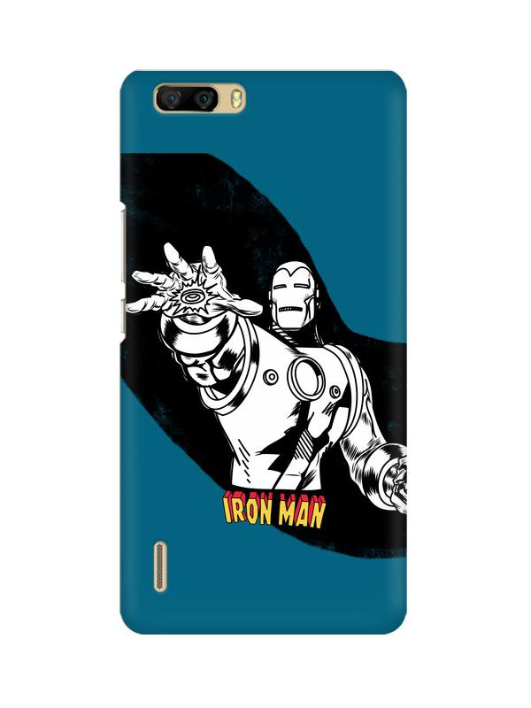 Iron Man Huawei Honor 6 Plus Mobile Cover