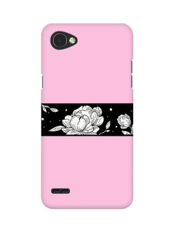 Floral Pattern 3 LG Q6 Mobile Cover