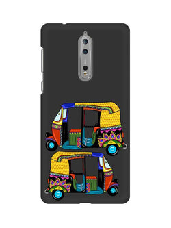 Autorickshaw Nokia 8 Mobile Cover