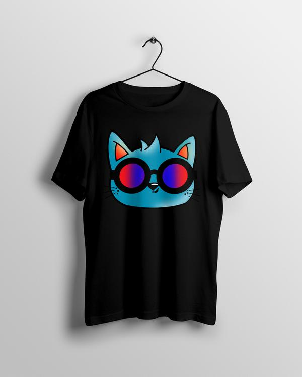Cool Cat T-shirt - Calenvie