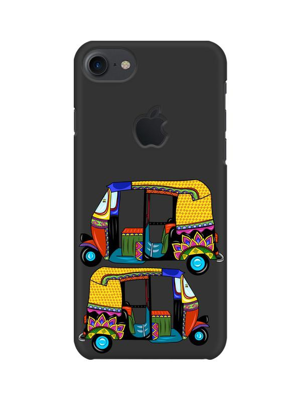 Autorickshaw Apple iPhone 7 with Apple Cut Mobile Cover