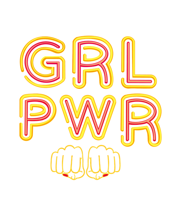 Girl Power T-shirt - Calenvie