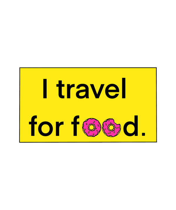 I Travel For Food T-shirt