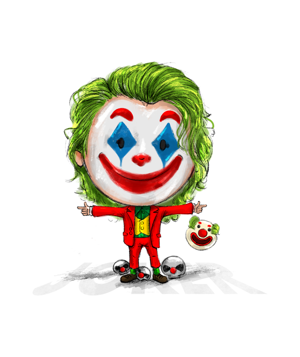 Joker T-shirt by SmilingSkull - Calenvie