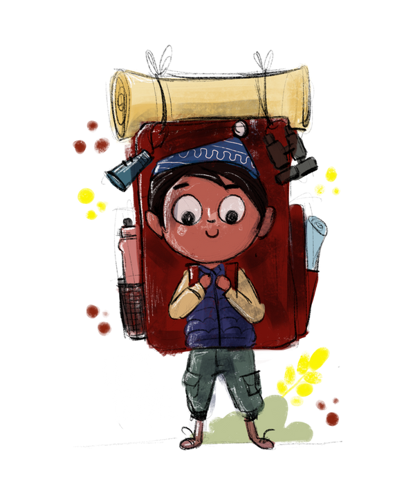Lets Travel Hoodie by SmilingSkull