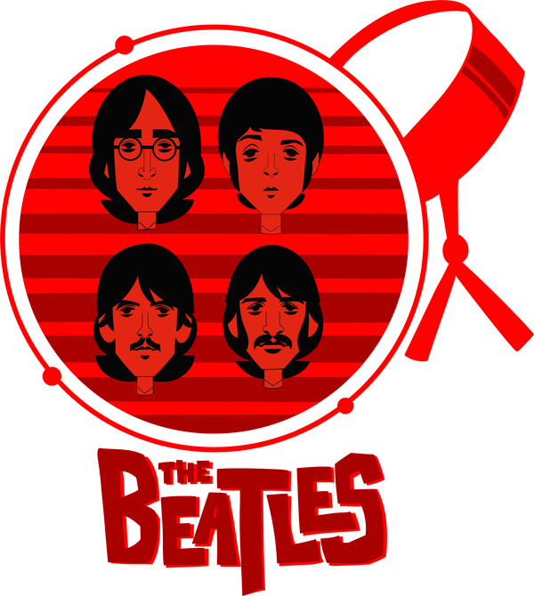 The Beatles T-shirt - Calenvie