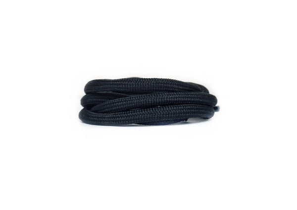"Solid Black 32"" - Rope Laces"