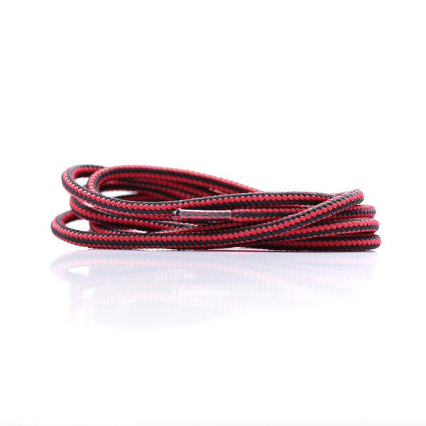 "Black/Red Dual Tone 47"" - Rope LacesEQT - No Agenda"