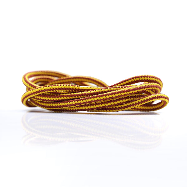 "Yellow/Wine Dual Tone 47"" - Rope LacesEQT - No Agenda"