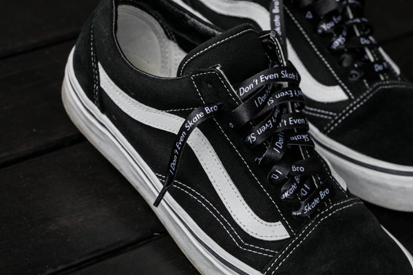 "I.E.D. Customs X No Agenda Skate? Laces 38"" - Flat Laces"