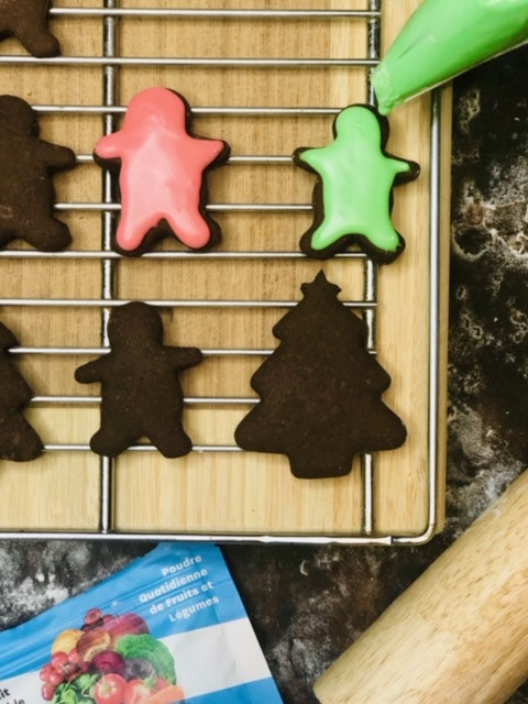 Empowdered Gingerbread Cookies