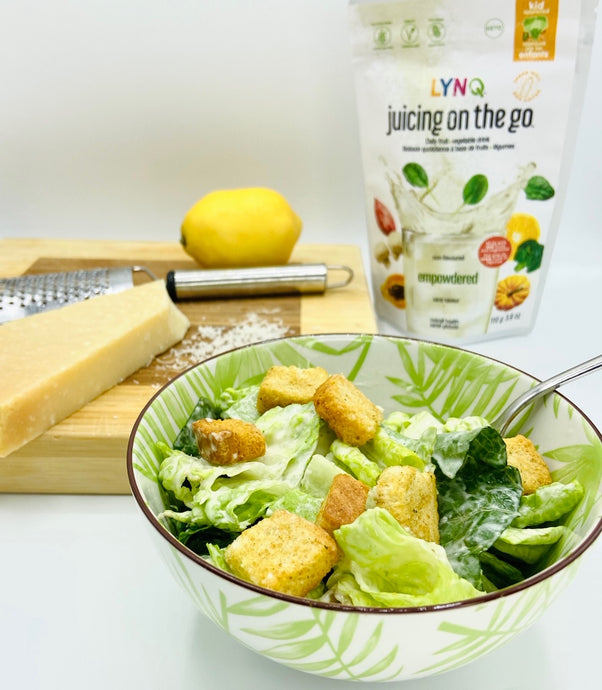 Empowdered Caesar Salad