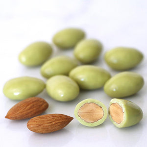 LYNQ- Matcha covered almonds, Healthy snack