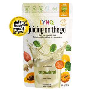 Lynq Fruit and Vegetable Powder Blend for Overall Health, Non Flavoured