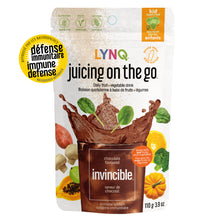 Load image into Gallery viewer, Lynq Invincible Fruit and Vegetable Powder Blend for Immune Boosting, Chocolate Flavor