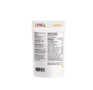 LYNQ Fruit and Vegetable Powder Dietary Supplement for Overall Health Ingredients, Non Flavoured