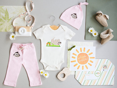 Baby Girl Welcome Set