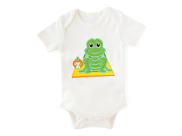 Turtle Pose Bodysuit Organic Cotton